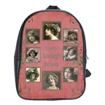 My Rosa Botanica large school bag back pack - School Bag (Large)