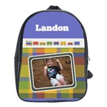 Train Large School Bag - School Bag (Large)