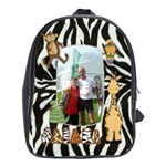 Safari Zebra large school bag back pack - School Bag (Large)