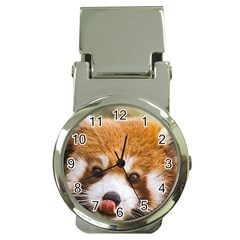 Red Panda2 Money Clip Watch by designergaze