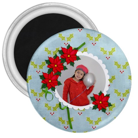 3  Magnet   Christmas1 By Jennyl   3  Magnet   597nyyarc794   Www Artscow Com Front