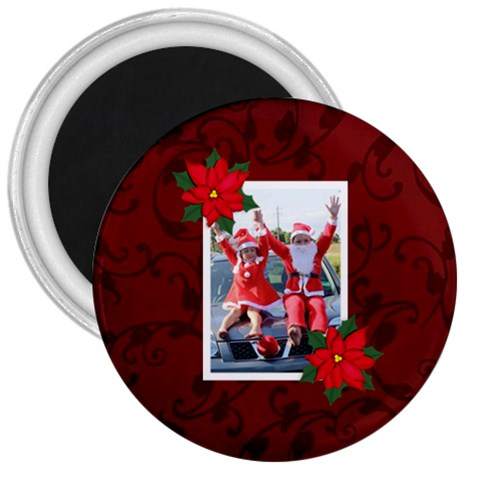 3  Magnet   Christmas3 By Jennyl   3  Magnet   1gvz9pqype4x   Www Artscow Com Front