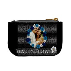 Beauty Flower By Joely   Mini Coin Purse   Y198r6i2d6ey   Www Artscow Com Back