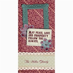 Peace, Love/holiday 4x8 Photo Card By Mikki   4  X 8  Photo Cards   J0zdl3sdatvq   Www Artscow Com 8 x4 Photo Card - 1