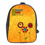 Recycle Backpack Lrg. - School Bag (Large)