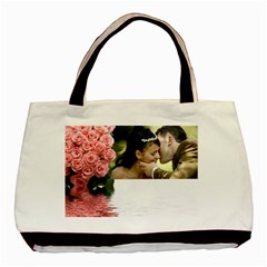 Memories (2 Sided )tote By Deborah   Basic Tote Bag (two Sides)   6jfeozyvi7nq   Www Artscow Com Front