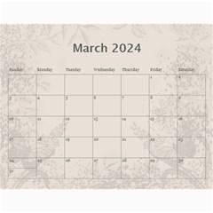 Coffee And Cream (any Year) 2018 Calendar By Deborah   Wall Calendar 11  X 8 5  (12 Months)   L3cqpfrtxo6r   Www Artscow Com Mar 2018