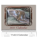 Cream classic 2016 (any Year) Calendar - Wall Calendar 11  x 8.5  (12-Months)