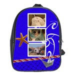 School bag large - OCEAN - School Bag (Large)