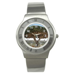 Tree2 Stainless Steel Watch by designergaze