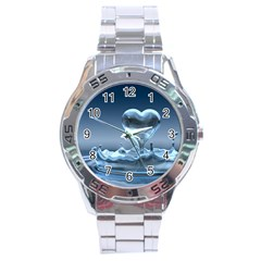 Water2 Stainless Steel Analogue Men's Watch by designergaze