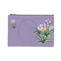 Croton Large Cosmetic Bag By Deborah   Cosmetic Bag (large)   Tv5tuwfeb4yc   Www Artscow Com Front