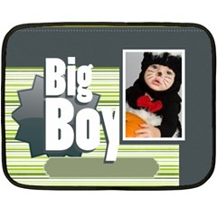 Big Boy By Joely   Double Sided Fleece Blanket (mini)   Dvs985mgbav4   Www Artscow Com 35 x27 Blanket Front