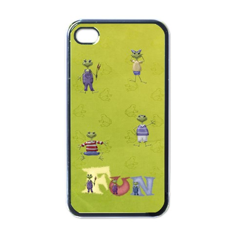 Fun Iphone Case By Elena Petrova   Apple Iphone 4 Case (black)   Pbhxmb2qrw0t   Www Artscow Com Front
