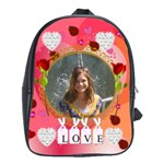 love large bookbag - School Bag (Large)