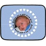 silas - Fleece Blanket (Mini)