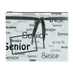 Wkm School Xl Cosmetic Bag By Lisa Minor   Cosmetic Bag (xl)   Qr0iyfh1yr84   Www Artscow Com Front