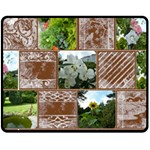 In My Garden Coffee Break Medium Fleece Blanket - Fleece Blanket (Medium)