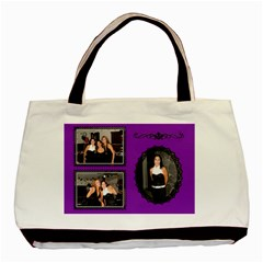 Gina Friend By Sirena Lew   Basic Tote Bag (two Sides)   I7ygrwcb0gyl   Www Artscow Com Back