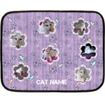 Cat Bed Blanket (mini) - Fleece Blanket (Mini)