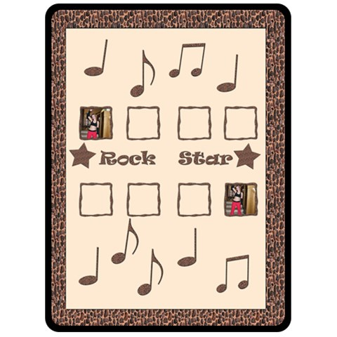 Rock Star Xl Blanket By Deborah   Fleece Blanket (large)   Mj65nhqlhkmc   Www Artscow Com 80 x60 Blanket Front