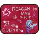 Reagan - Fleece Blanket (Mini)