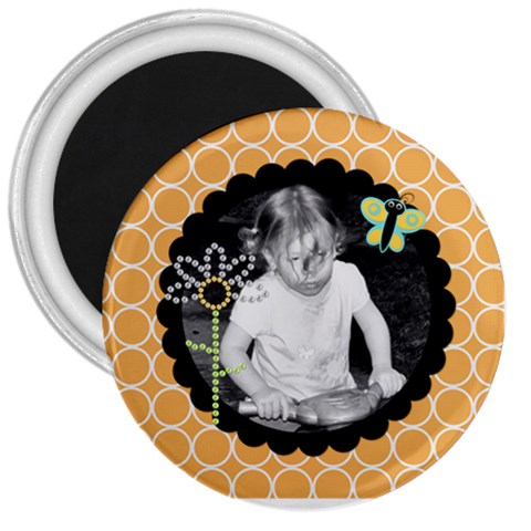Sd Magnet 1 By Martha Meier   3  Magnet   Yh3ufqttoulg   Www Artscow Com Front