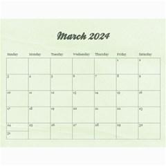 18 Month 2015 Calendar/family Any Theme By Mikki   Wall Calendar 11  X 8 5  (18 Months)   Dyahjav3t63z   Www Artscow Com Mar 2016
