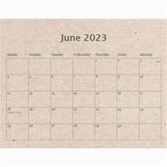 Fantasic Classic Neutral 2015 Calendar By Catvinnat   Wall Calendar 11  X 8 5  (12 Months)   0ilkbp3zvp1o   Www Artscow Com Jun 2015