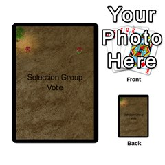 Zealots By Joseph Tran   Multi Purpose Cards (rectangle)   U2o169zwog9y   Www Artscow Com Back 8