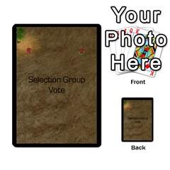 Zealots By Joseph Tran   Multi Purpose Cards (rectangle)   U2o169zwog9y   Www Artscow Com Back 13