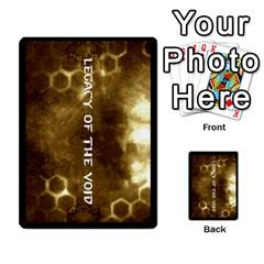 Zealots By Joseph Tran   Multi Purpose Cards (rectangle)   U2o169zwog9y   Www Artscow Com Back 48