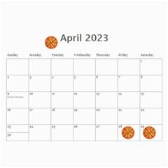 Calendar  Cool Dude By Jennyl   Wall Calendar 11  X 8 5  (12 Months)   Bnv9s9djwept   Www Artscow Com Apr 2017