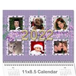 The Look of Lace 2018 (any Year) Calendar - Wall Calendar 11  x 8.5  (12-Months)