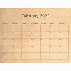 Pirate Pete 2015 Calendar By Catvinnat   Wall Calendar 11  X 8 5  (12 Months)   2kiltmitvnn6   Www Artscow Com Feb 2015