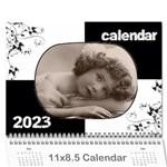 Vintage Prints 2015 Calendar - Wall Calendar 11  x 8.5  (12-Months)
