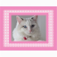 Pretty In Pink 2018 (any Year) Calendar By Deborah   Wall Calendar 11  X 8 5  (12 Months)   Kvp2ria4y7o8   Www Artscow Com Month