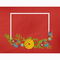 Calendar  Summer Colors By Jennyl   Wall Calendar 11  X 8 5  (12 Months)   Fuegsm5izgbm   Www Artscow Com Month