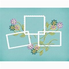Calendar  Cherished Memories By Jennyl   Wall Calendar 11  X 8 5  (12 Months)   Fizpaodla2r3   Www Artscow Com Month