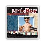little boy - Memory Card Reader (Square)