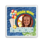 birthday wish - Memory Card Reader (Square)