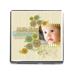 baby hello - Memory Card Reader (Square)