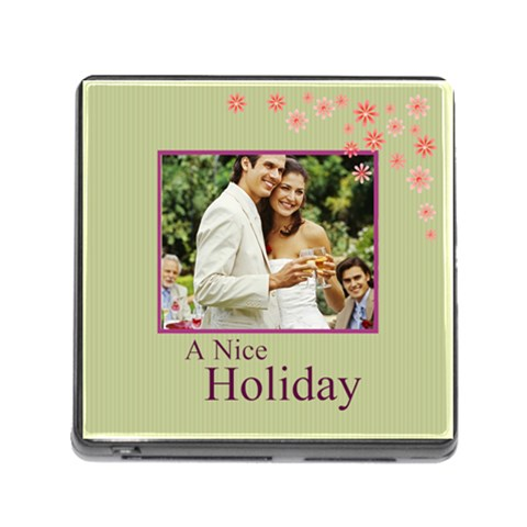 Nice Day By Joely   Memory Card Reader (square)   N5ev1wp8l9b8   Www Artscow Com Front