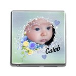Memory Card Reader Baby s Photos - Memory Card Reader with Storage (Square)