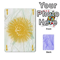 Hanabi & Ikebana By Carlos   Playing Cards 54 Designs   Smd7cod1ghqx   Www Artscow Com Front - Heart3