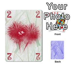 Hanabi & Ikebana By Carlos   Playing Cards 54 Designs   Smd7cod1ghqx   Www Artscow Com Front - Heart7
