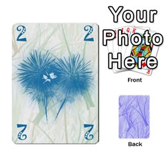 Hanabi & Ikebana By Carlos   Playing Cards 54 Designs   Smd7cod1ghqx   Www Artscow Com Front - Heart8