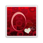 I Heart You Red Love Memory card reader - Memory Card Reader (Square)