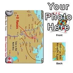 Ttr   Northern Africa Tickets By Matthew Stevenson   Playing Cards 54 Designs   504hhcv04kvk   Www Artscow Com Front - Diamond5