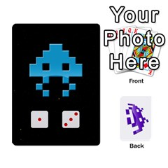 8bit By Daniel Cassar   Playing Cards 54 Designs   Zwe02aedvg7m   Www Artscow Com Front - Spade3